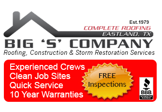 eastland TX roofing company 76448
