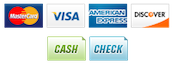 atlanta roofing accepts payments credit cards cash check